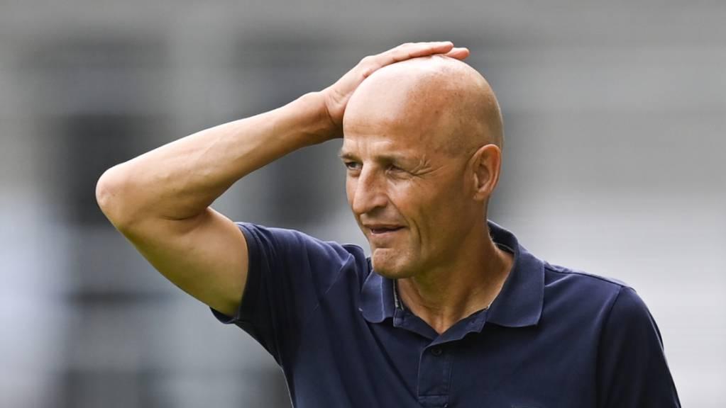 St. Gallens Trainer Peter Zeidler überlegt sich wegen gewichtigen Ausfällen einen Systemwechsel