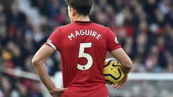 Verteidiger Harry Maguire kostete Manchester United rund 100 Millionen Euro