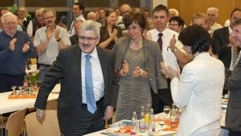 Die Delegiertenversammlung würdigte Brogli mit stehendem Applaus