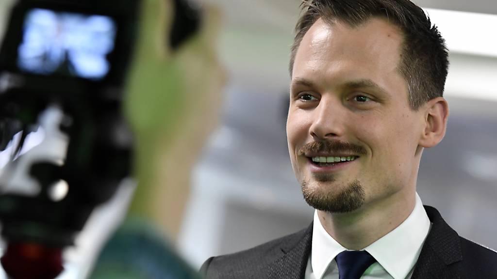 Jonas Projer verlässt nach zwei Jahren den digitalen Sender Blick TV und wechselt zur «NZZ am Sonntag». (Archivbild)