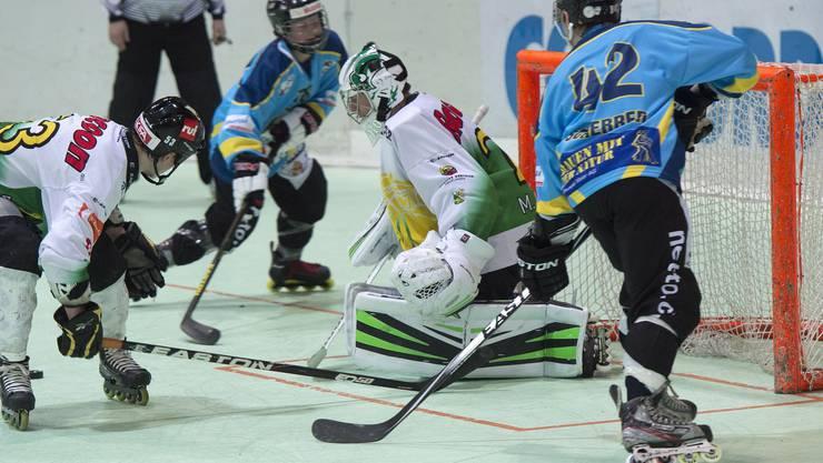 Der Hockey-Club Laupersdorf spielte am letzten Wochenende in Zuchwil gegen Thurgau.