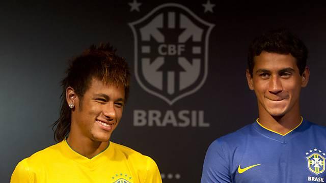 Auch Neymar figuriert im Aufgebot von Nationaltrainer Mano Menezes