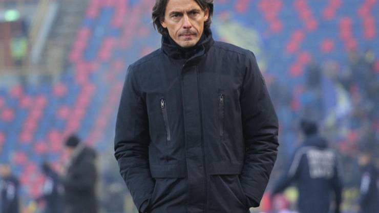 Filippo Inzaghi wurde nach der Niederlage gegen Frosinone entlassen