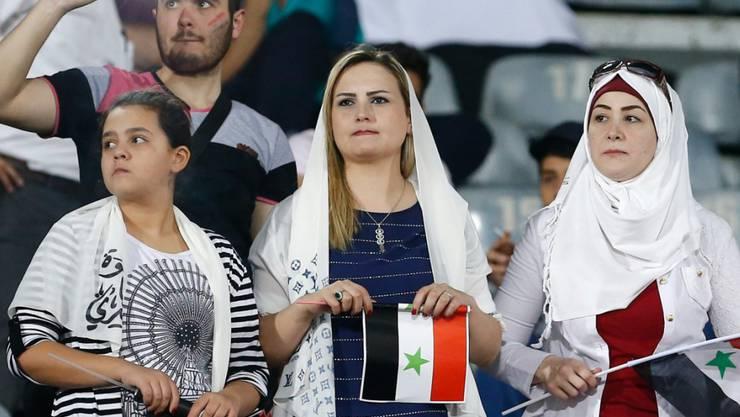 Die Hoffnung lebt: Syriens Fussballfans dürfen weiter von der ersten WM-Teilnahme träumen