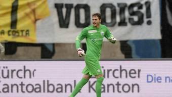 Trotz starker Leistung verloren: der neue FCZ-Goalie Brecher
