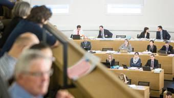 Der Grosse Rat tagt im Grossratsgebäude in Aarau. Aufgenommen am 21. November 2017 in Aarau.