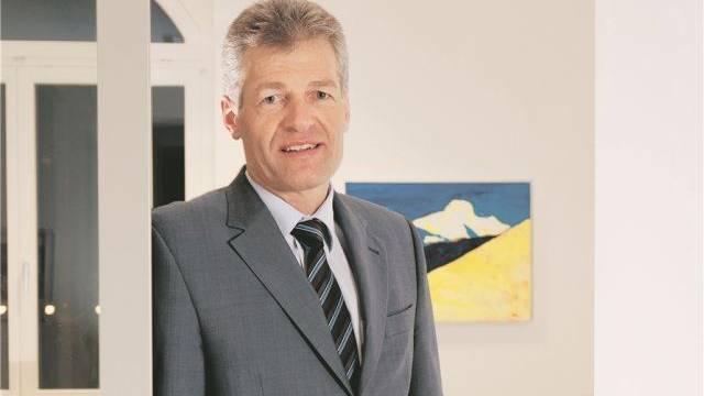 Heinz Karrer, Chef des Stromkonzerns Axpo, wehrt sich nach dem Gerichtsurteil gegen Mühleberg für das AKW Beznau. Foto: Alex Spichale