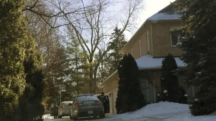 In diesem Haus in Toronto wurde das Milliardärs-Ehepaar Barry und Honey Shermann Mitte Dezember tot aufgefunden. (Archivbild)