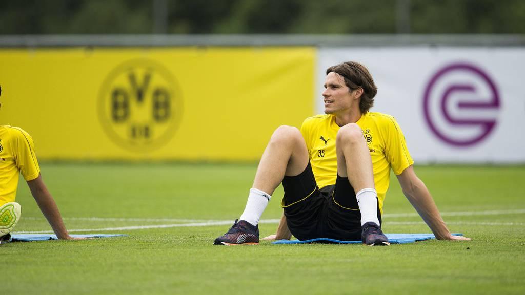 Der Ostschweizer Marwin Hitz testet mit seinem Verein Borussia Dortmund gegen den FC St.Gallen.