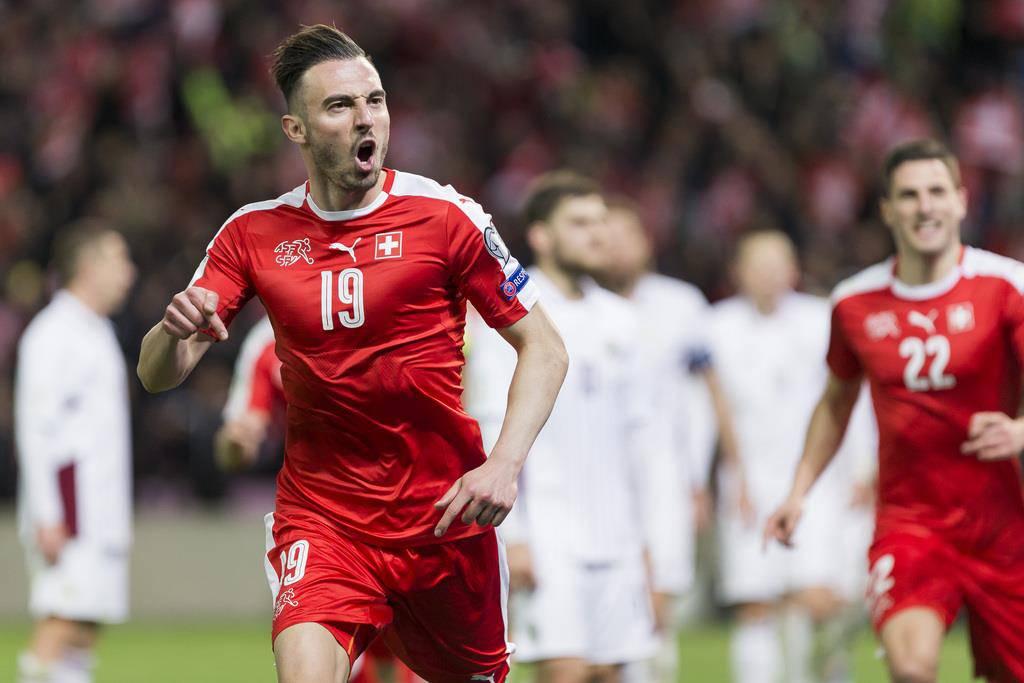Schweiz gewinnt gegen Lettland (© Keystone/Cyrill Zingaro)
