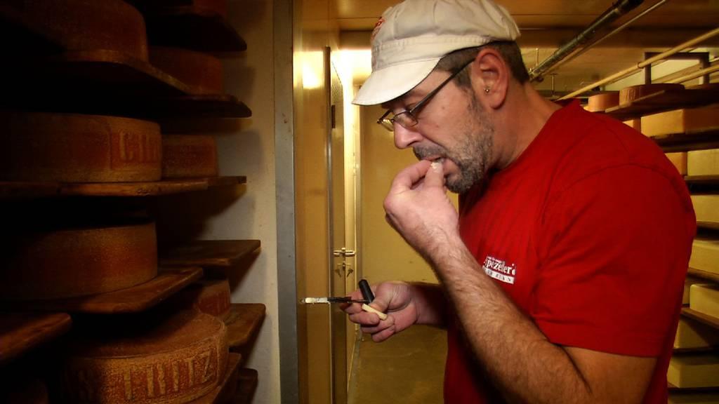 Walter Hungerbühlers Käse räumte bei der Käsiade ab.