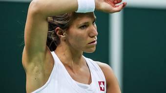 Hofft in Lugano auf einen Aufschwung: Viktorija Golubic