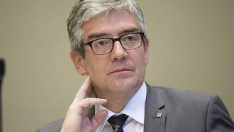 Schwere Niederlage:  Der Bündner Volkswirtschaftsdirektor Jon Domenic Parolini wollte mit Olympischen Spielen die Wirtschaft ankurbeln.