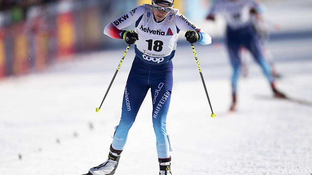 Nathalie von Siebenthal stiess in Val Müstair in die Viertelfinals vor