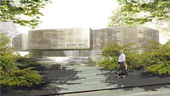 So soll das neue Tierheim für den Tierschutz beider Basel aussehen.