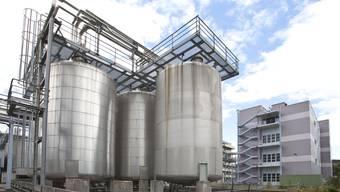 Am Standort Kaisten im Frickal stellt die BASF Kaisten AG vor allem Kunststoffadditive her, darunter grossvolumige Anioxidantien
