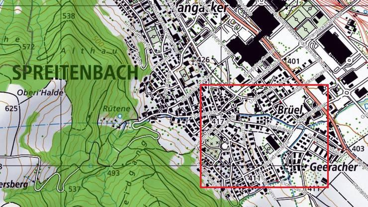Besonders in diesem Gebiet ist gemäss der Kantonspolizei Vorsicht geboten.