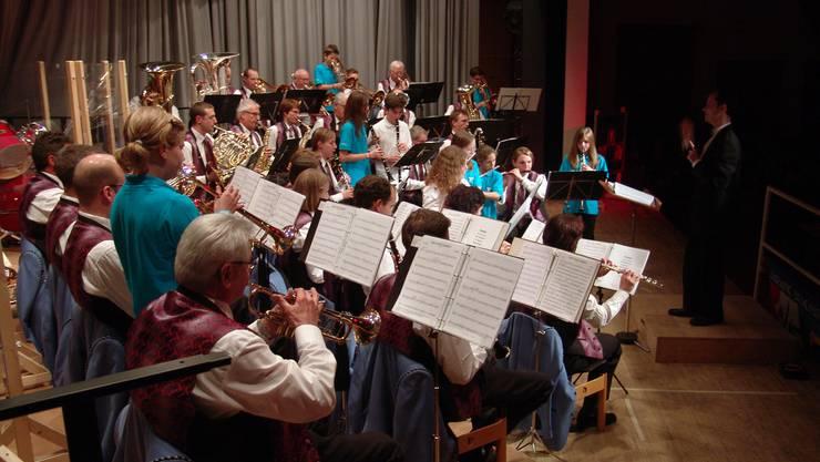 Die Harmonie Birmensdorf lud zum Jahreskonzert 2011