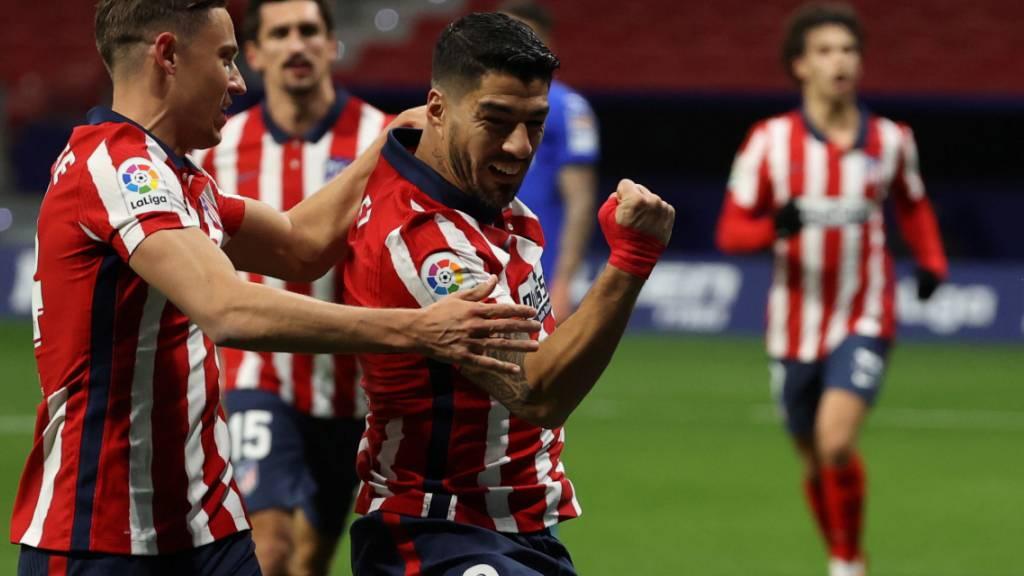 Luis Suarez traf mit dem Kopf zum Sieg