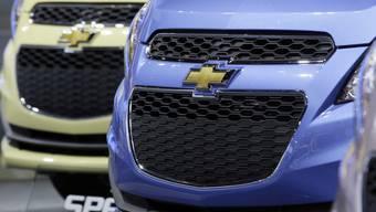 Der Autohersteller General Motors muss in den USA Modelle der Marke Chevrolet zurückrufen (Archiv)