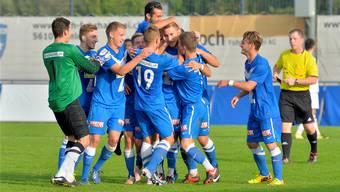 Mit etwas Glück hat Team Aargau U21 nochmals Grund zum Jubeln.