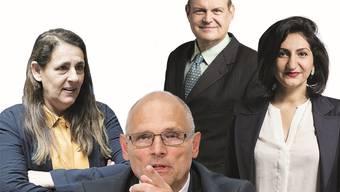 Jacqueline Badran (SP), Alfred Heer (SVP), Claude Beglé (CVP) und Sibel Arslan (Grüne) sind Doppelbürger.