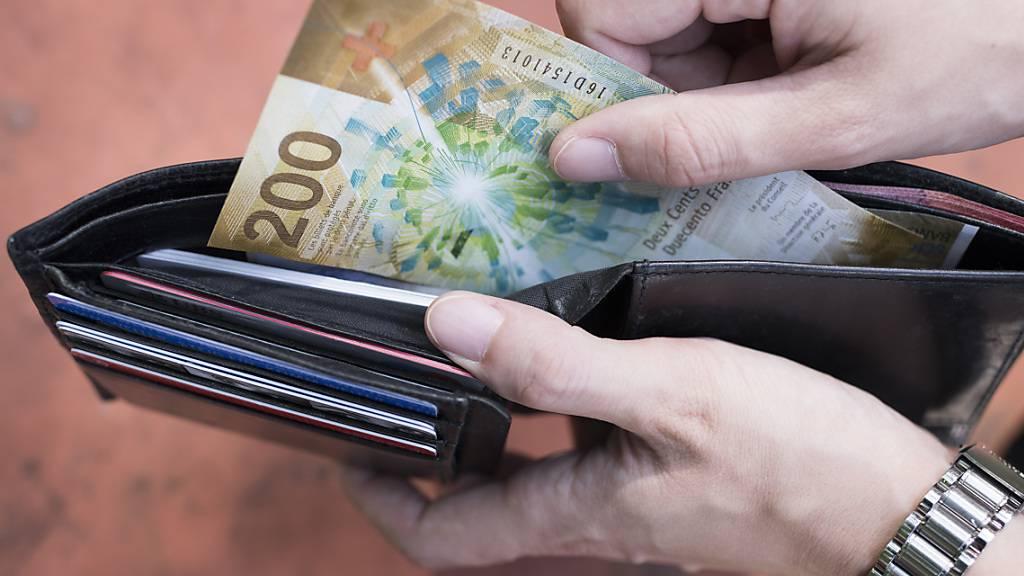 Reallöhne vergangenes Jahr um 1,5 Prozent gestiegen