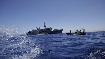 Für viele Flüchtlinge kam wieder einmal jede Hilfe zu spät - Hunderte ertranken im Mittelmeer. (Symbolbild)