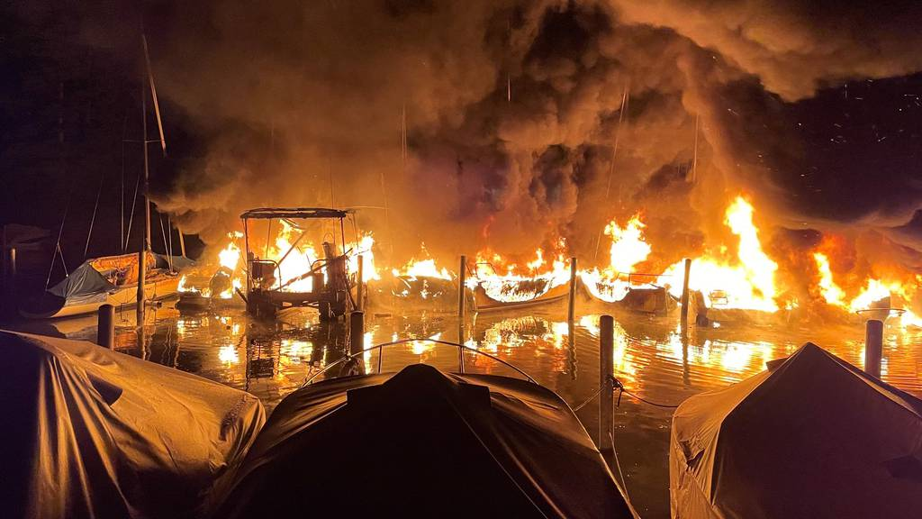 Technischer Fehler war Schuld am Grossbrand im Segelhafen