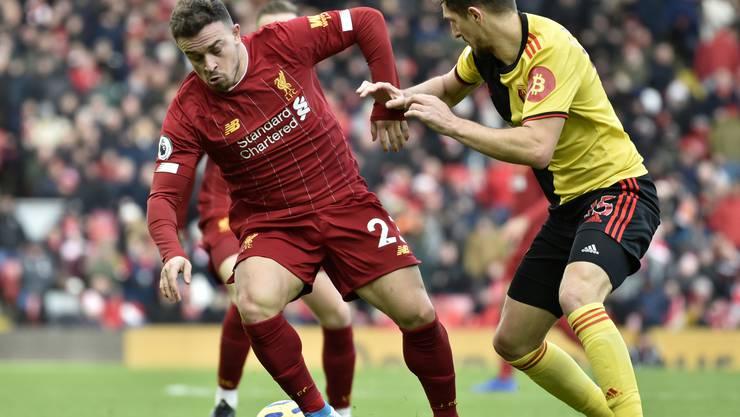 Xherdan Shaqiri im Match gegen Watford.