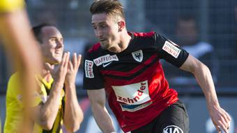 Bilder vom Spiel FC Aarau - YB
