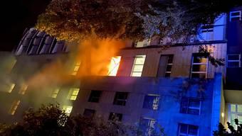 Brand in Zofingen.