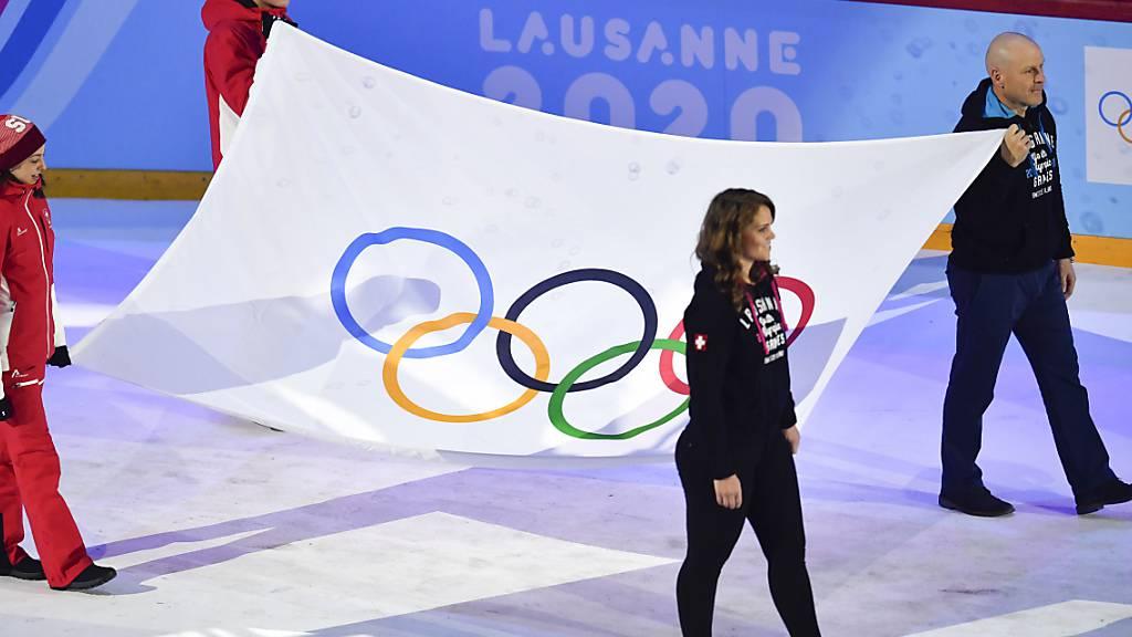 Olympische Jugendspiele in Lausanne eröffnet