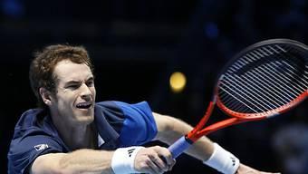 Für Andy Murray ist das Masters vorzeitig vorbei