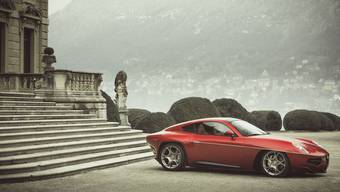 Wird auf Bestellung gebaut, als Basis dient ein Alfa Romeo 8C.