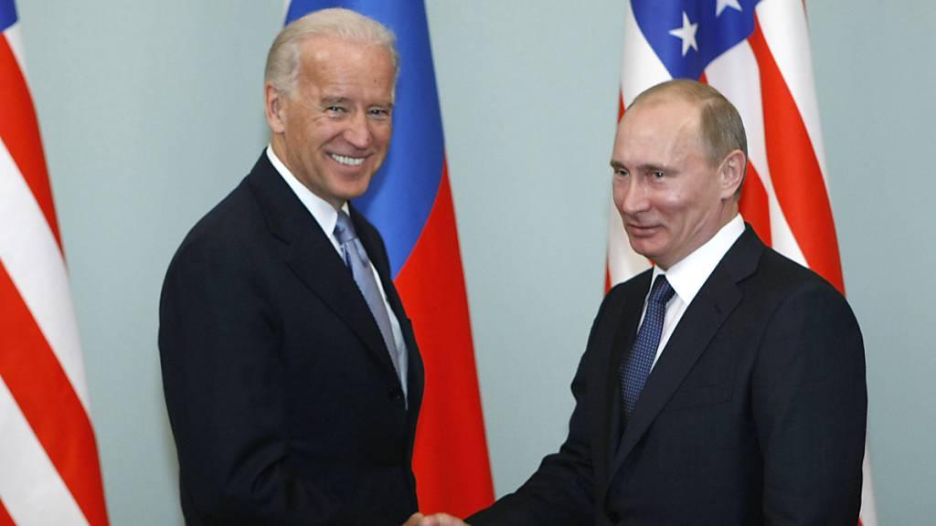 Biden und Putin treffen sich im Juni in Genf zu Gipfel