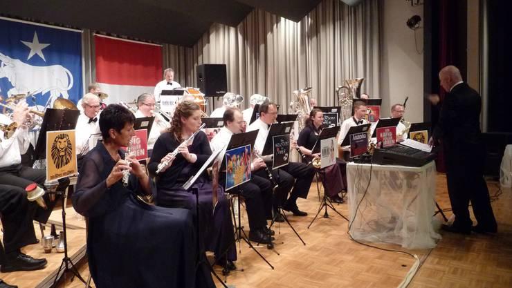 Die Musikgesellschaft Subingen. Auf dem Bild das Frühlingskonzert von 2014.