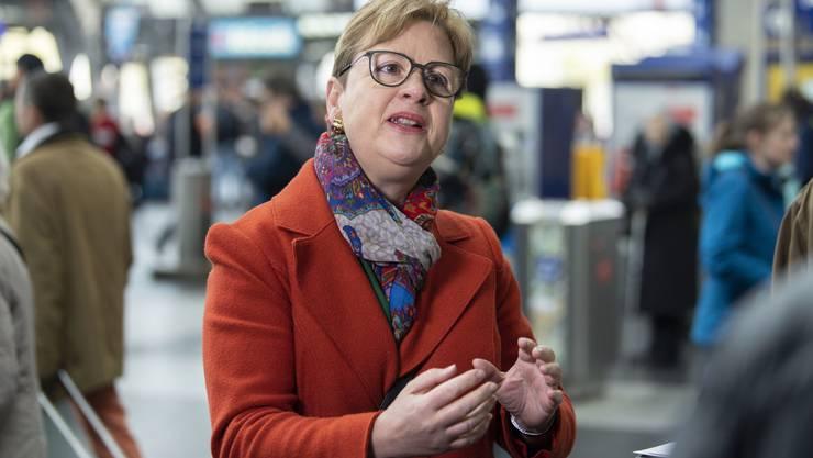 Edith Graf-Litscher (SP), Präsidentin der Verkehrskommission.