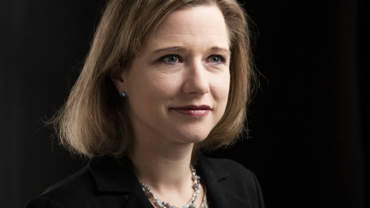 Humorvolle Schafferin: Nationalratspräsidentin Christa Markwalder bedeutet ihr Amt gleichermassen Arbeit und Vergnügen (Archiv).