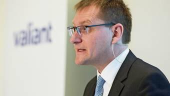 Hat Ende Mai bei Valiant die Führung übernommen: CEO Ewald Burgener.