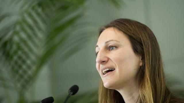 Die Co-Präsidentin der Grünen Schweiz, Adèle Thorens (Archivbild)