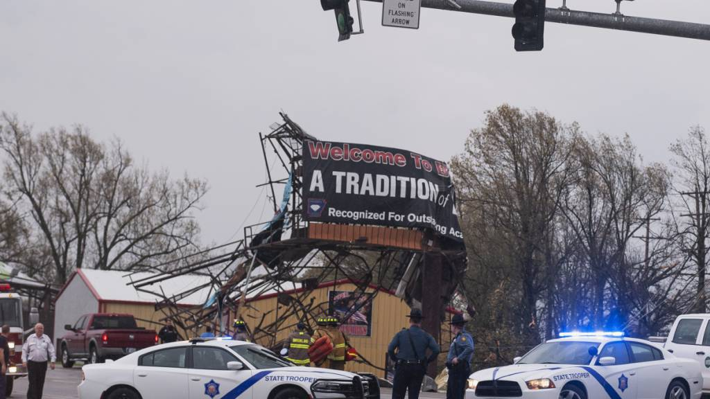 Mindestens sechs Verletzte bei Tornado in den USA