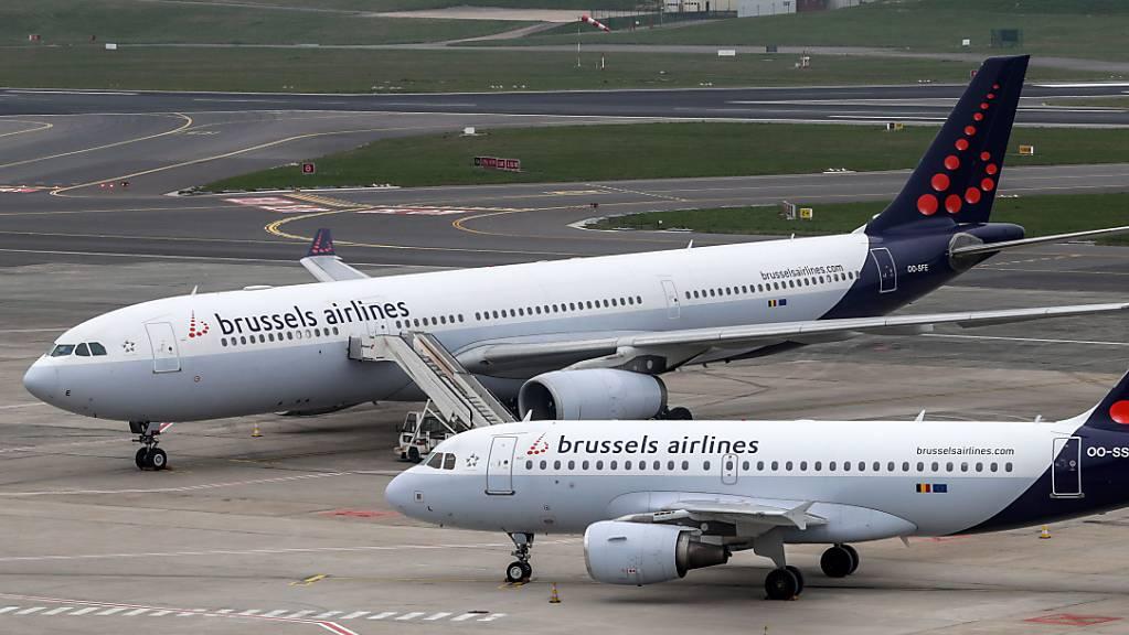 Stellenstreichungen und Abbau der Flotte: Die Massnahmen sind bei Brussels Airlines wegen Corona «unerlässlich», um das Überleben des Unternehmens zu sichern. (Archivbild)