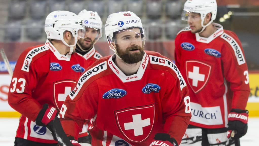 Der Lausanner Fabian Heldner erzielte im Mitteldrittel das 1:0.