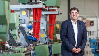Robert Reimann, CEO der Jakob Müller AG, hat das Ziel, das Geschäftsjahr 2018 «zumindest gleich oder noch besser» abzuschliessen als 2017.Archiv/Sandra Ardizzone