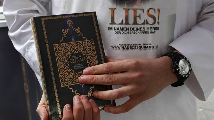 Der Kanton Zürich will keine Koran-Verteilaktionen mehr: Er informierte alle Gemeinden darüber, dass sie Gesuche ablehnen sollen.