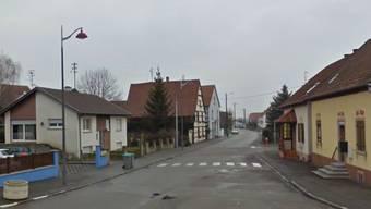 Im Dorf Petit Landau, 25 Kilometer nördlich von Basel, wurde die Frau verhaftet.