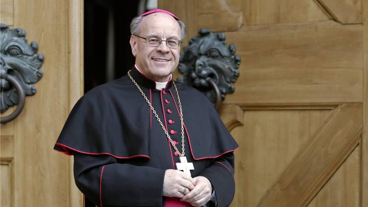 Vitus Huonder ist seit 2007 Churer Diözesanbischof.