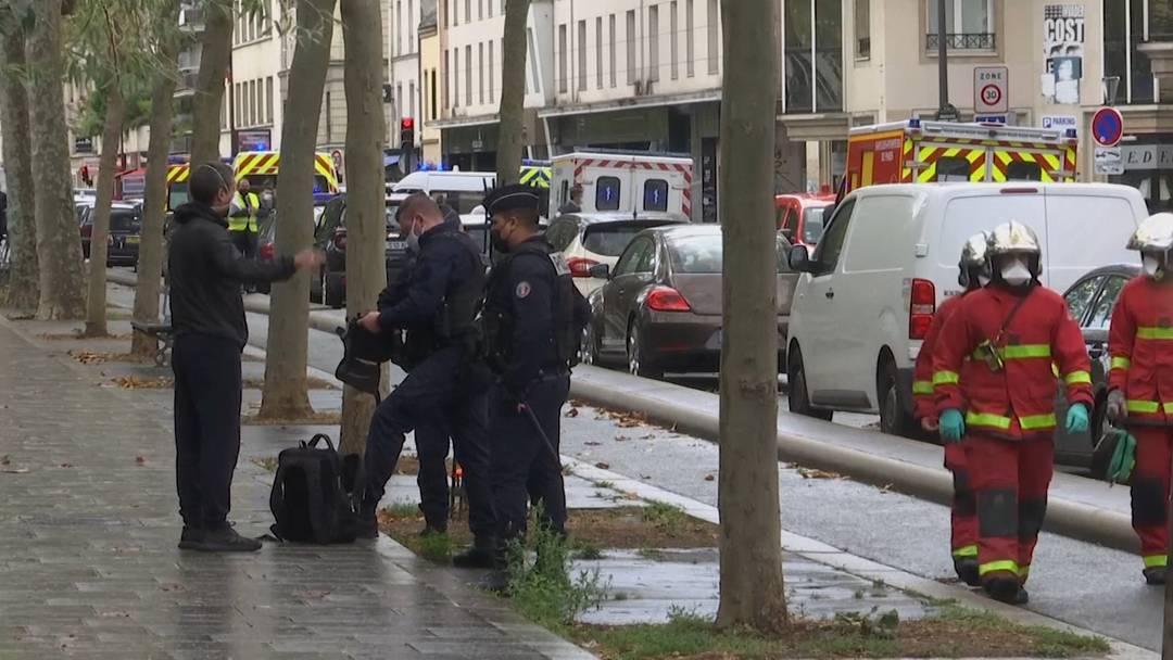 Zwei Verletzte durch Messerattacke in Paris