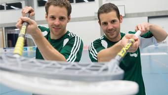 Bereit, den WM-Titel zu servieren: Christoph (l.) und Matthias Hofbauer wollen ihrer Laufbahn in den kommenden Tagen die Krone aufsetzen. Bieri